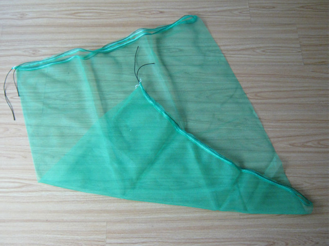 绞织网眼袋